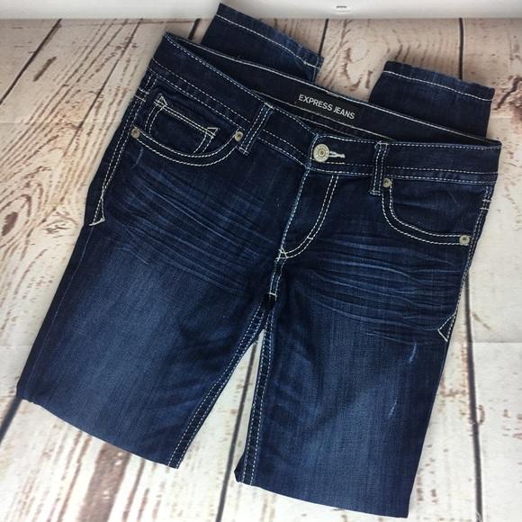 Express Denim - NEW Express Jeans Stella Low Rise Legging Size 6R